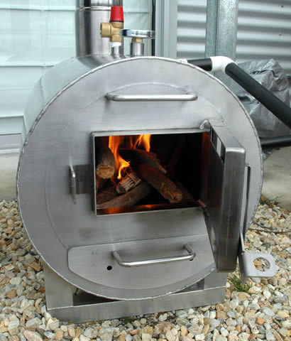 Starting wood fired heater