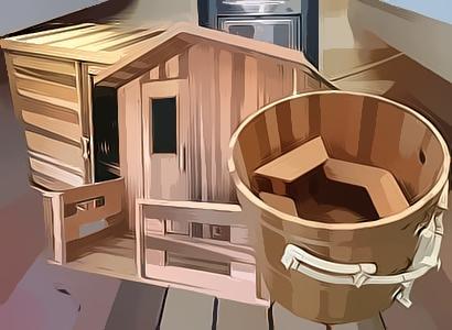 Ukko Saunas and Tubs