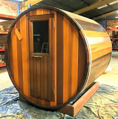 Ukko barrl sauna
