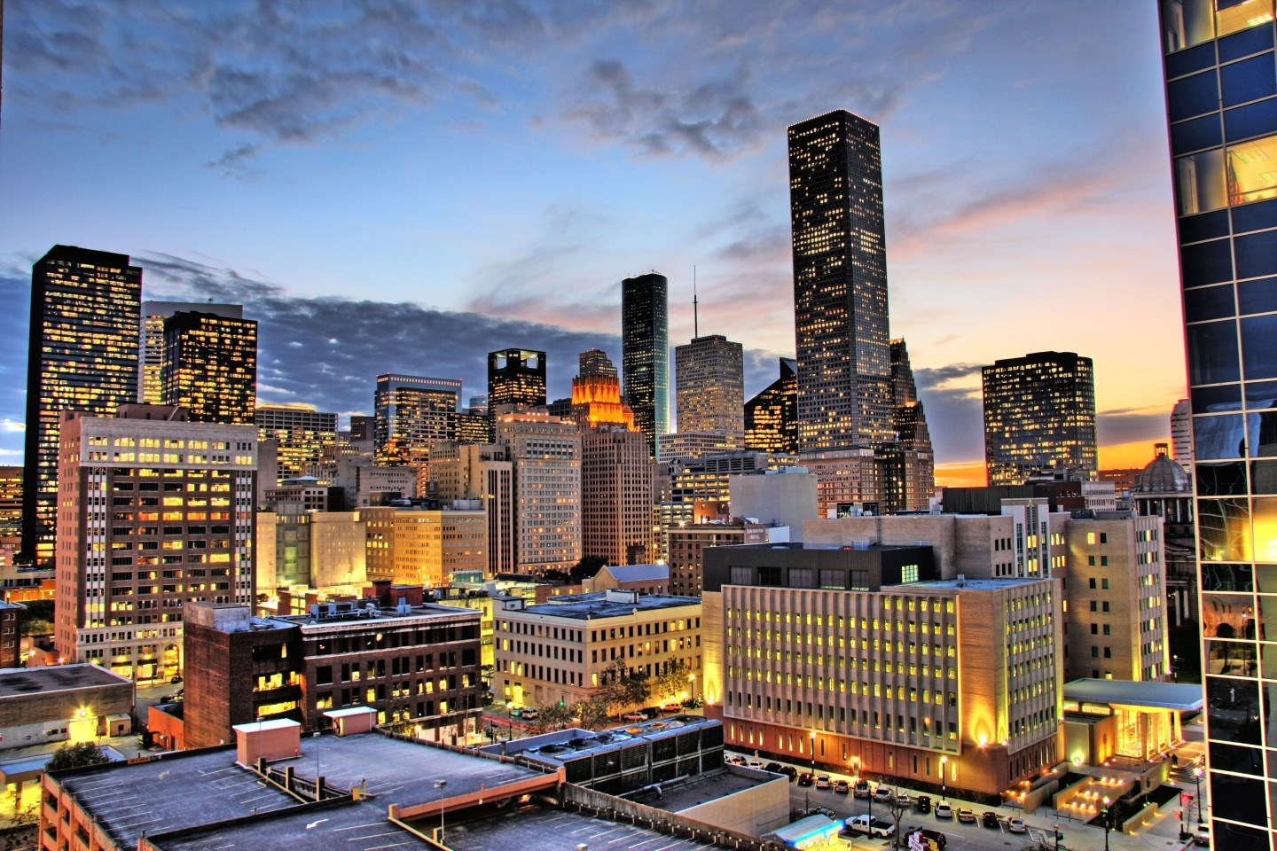 Houston_night 10 Southern HBCU Cities to Visit this Fall