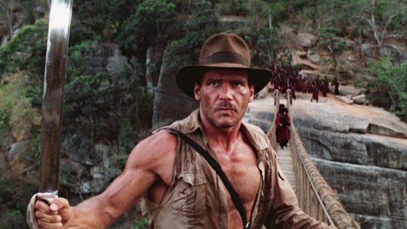Indiana Jones wear Panama Hat