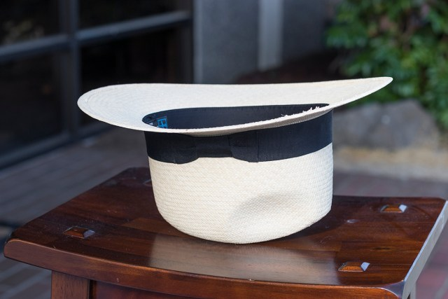 Panama Hat Drying