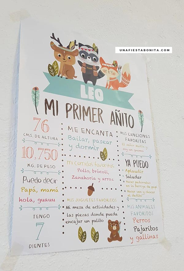 ideas para fiestas tematicas animalitos del bosque tribal