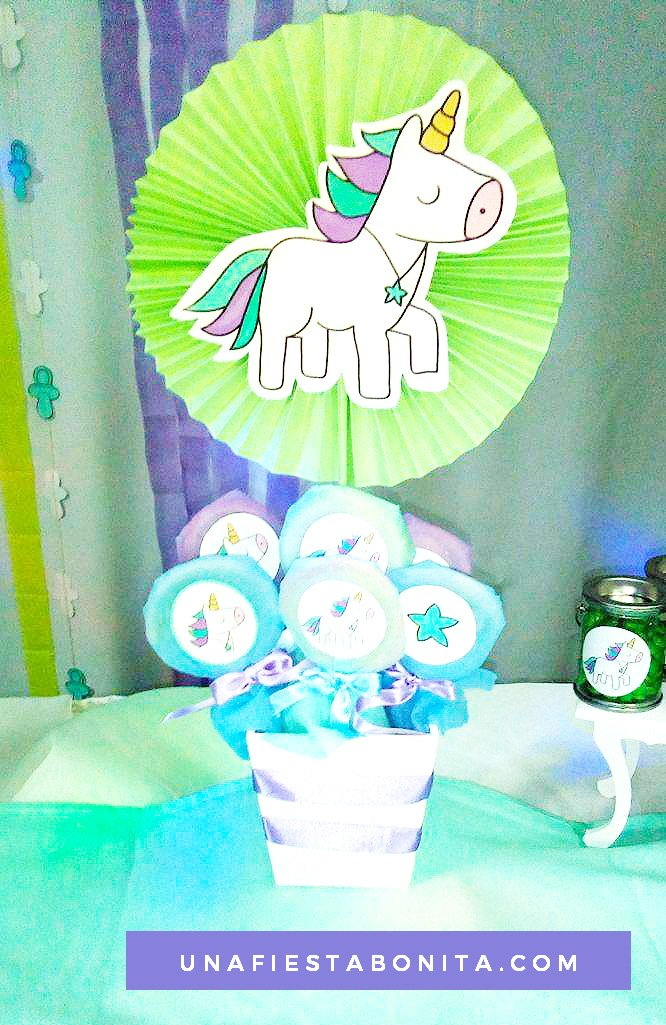 unicornios imprimibles ideas baby shower