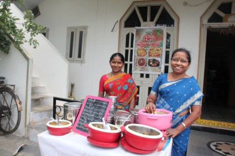 Mothers of sponsored children in India