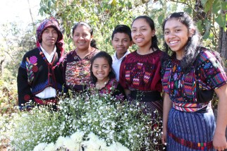 Pedro and his family