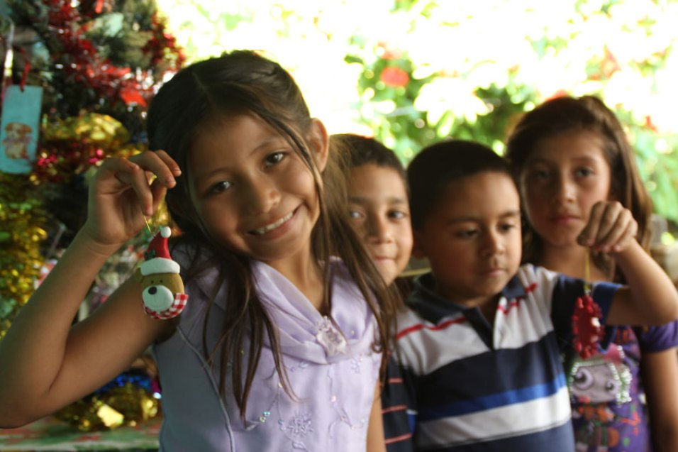 A Christmas celebration in El Salvador