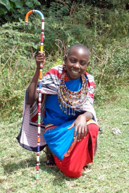 Maasai fashion