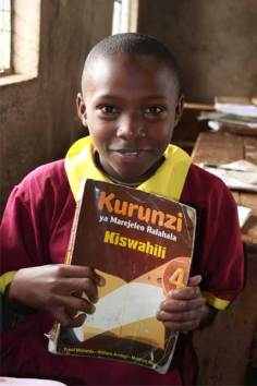 Sponsored child Elizabeth from Nairobi, Kenya.