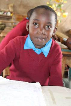 Sponsored child Peter from Nairobi, Kenya.