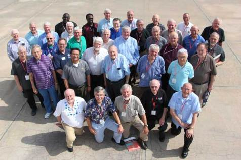 A group photo of the Unbound preachers gathered for the 2014 Unbound Preachers' Conference.