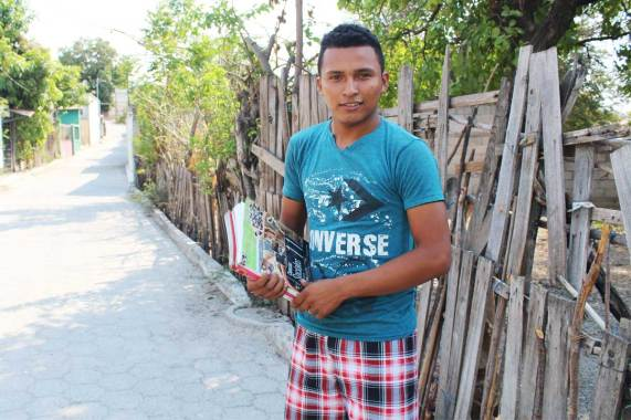 Ralldy is a sponsored youth and Unbound scholarship student in Guatemala.