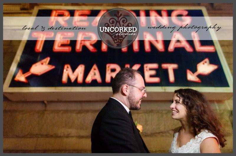 Urban Farmers Market Wedding Reading Terminal Market