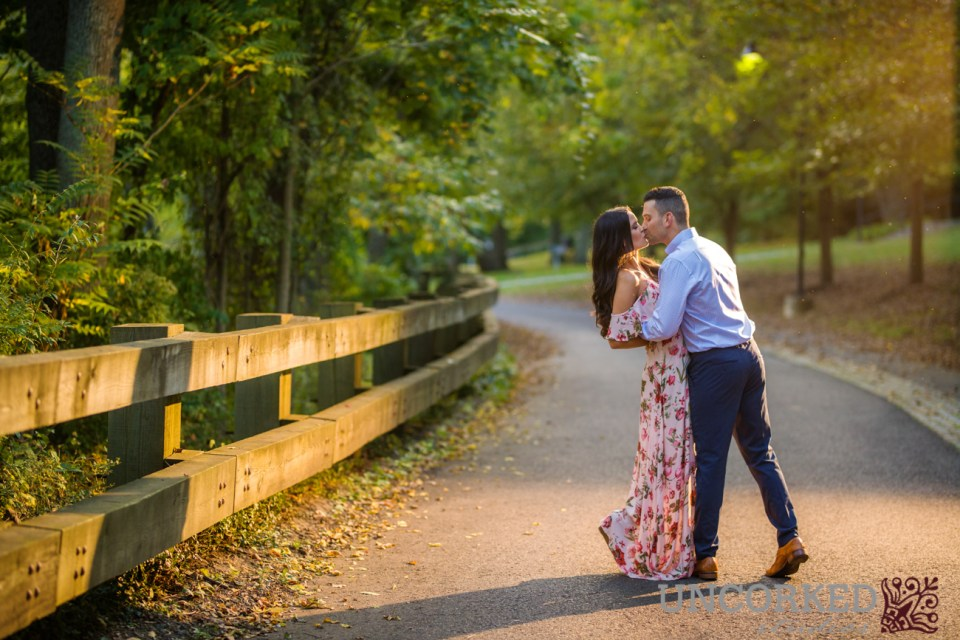 New Jersey Engagement Session at Sunset