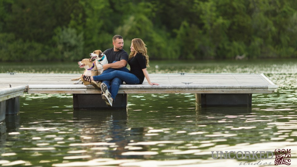 Blue Marsh Park Engagement Session
