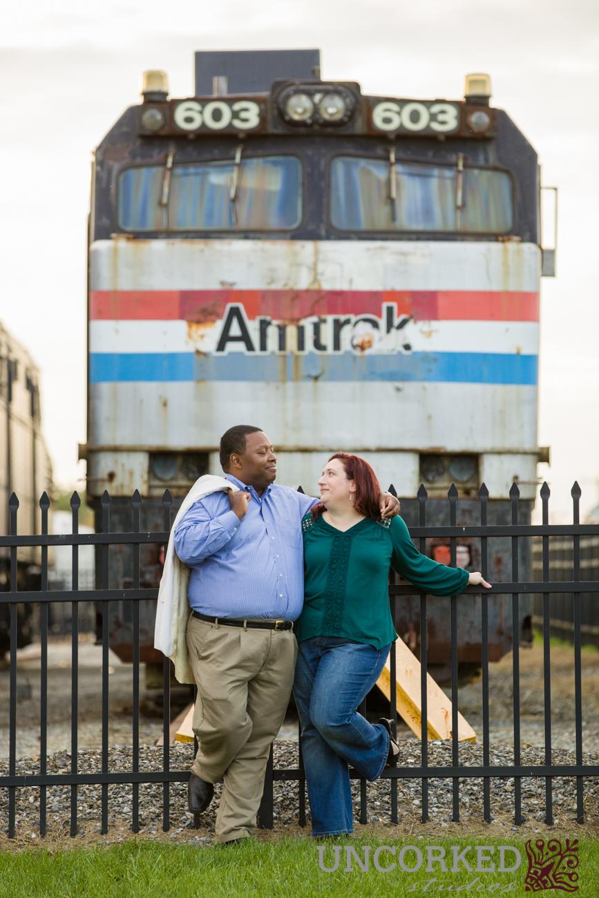 Vintage Amtrak Car