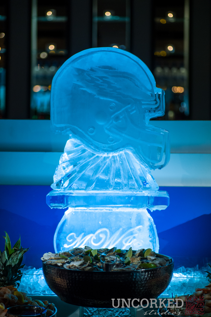 Eagles Ice Sculpture