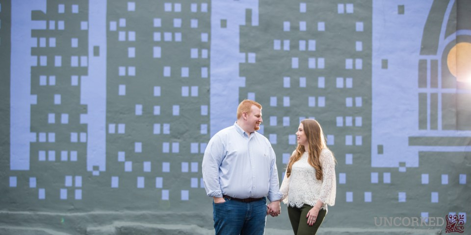 Old City Philadelphia engagement
