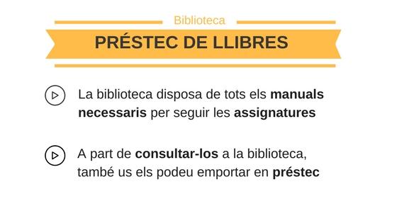 Préstec de llibres
