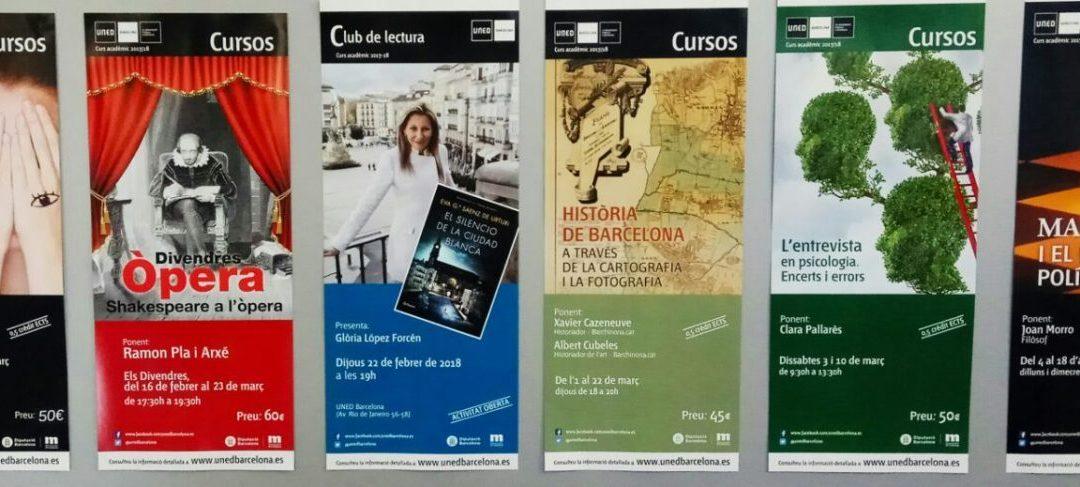 Activitats Extensió Universitària (Febrer- Abril 2018)