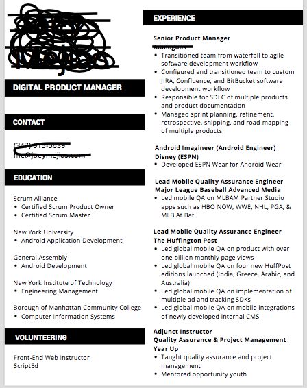How Much Does A Resume S Format Matter With Examples