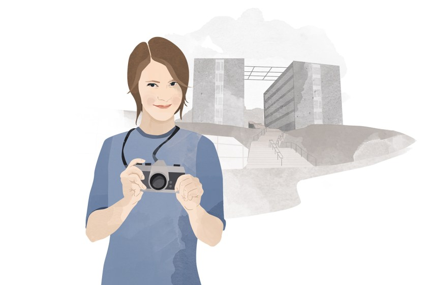 Heute schreibt Campus-Reporterin Lisa Leyerer. Illustration: Designstudio Mathilda Mutant