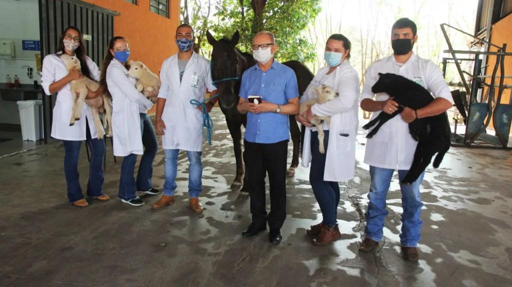 Medicina Veterinária da Unimar realiza a tradicional benção