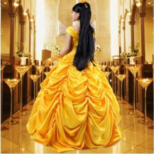 Belle Cosplay Costume