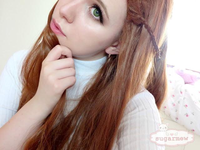 Wearing Cosplay Wig