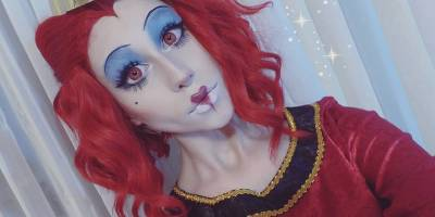 Queen of hearts crazy lenses