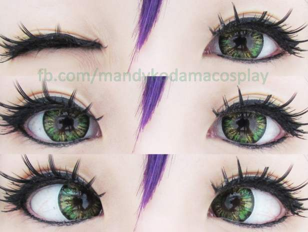 Sweety colored contact lenses