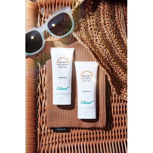 Korean skin care sun protector