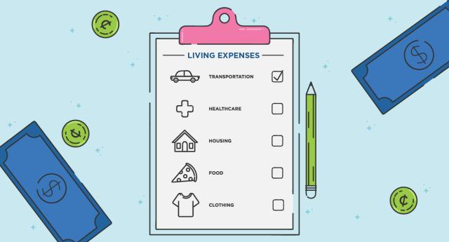 Ilustrasi Pencatatan Pengeluaran untuk Anggaran Rumah Tangga