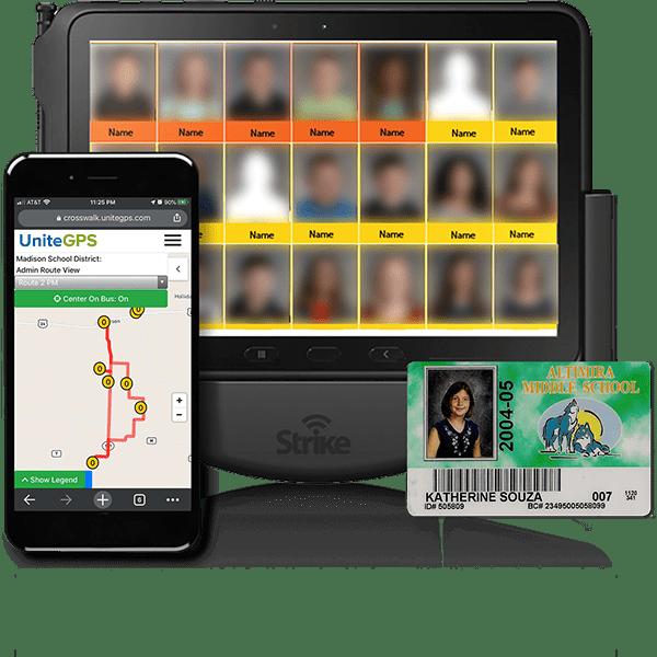 Tablet from Crosswalk school transportation solution