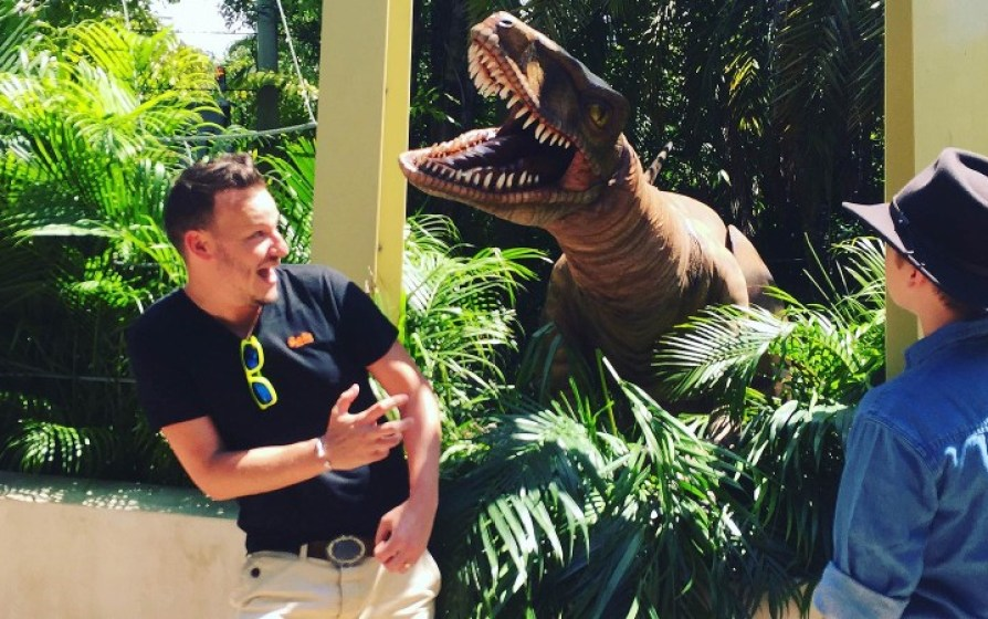 UK Jurassic Park Kevin Gibson