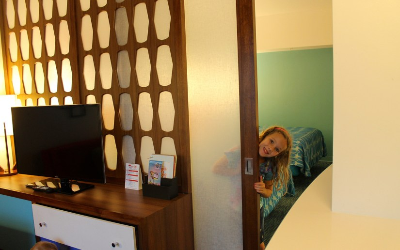 Book a family suite at Universal's Cabana Bay Beach Resort.
