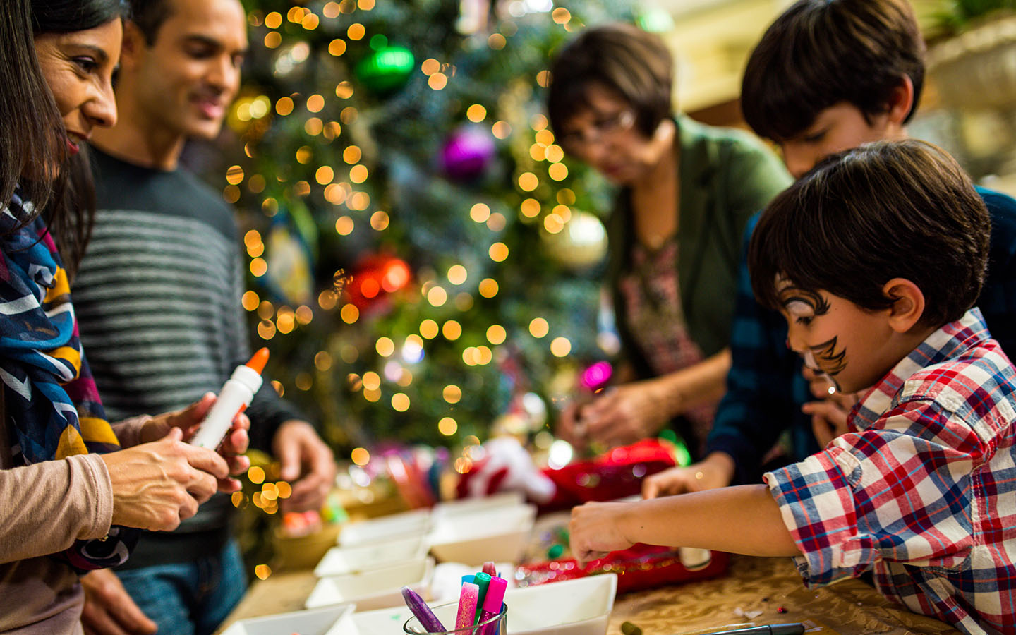 Kids activities during the holidays at Universal Orlando Resort.