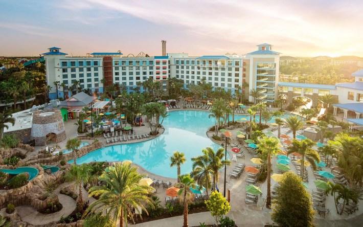 Loews Sapphire Falls Resort at Universal Orlando Resort.