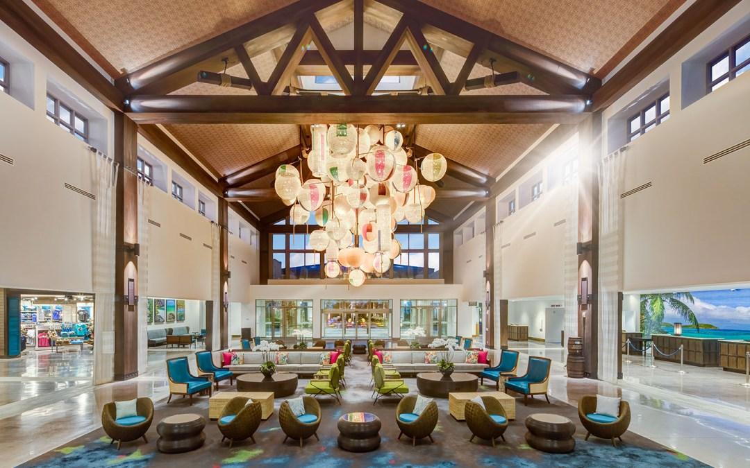 Lobby at Loews Sapphire Falls Resort