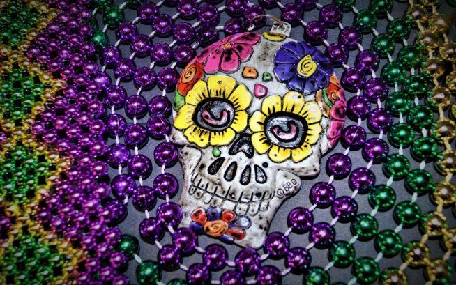 Mardi Gras Merchandise - Sugar Skull