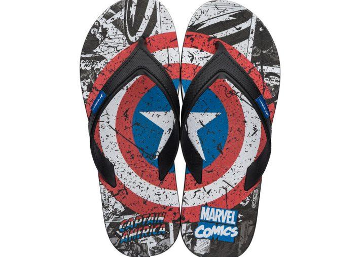 Captain America Rider Flip-Flops