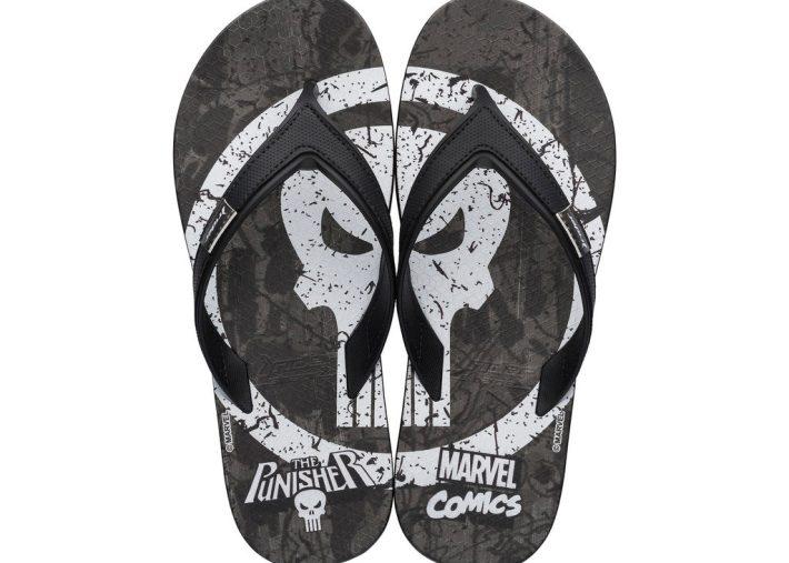 The Punisher Rider Flip-Flops
