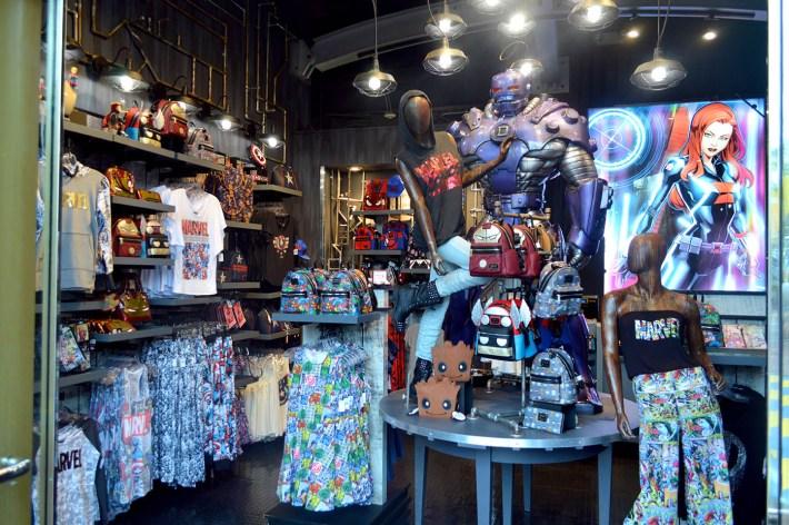 Store Interior Wide