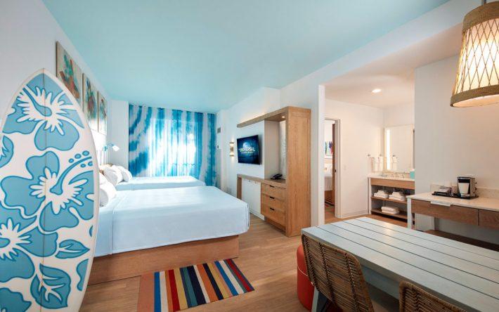 Universal's Endless Summer Resort - Surfside Inn and Suites Guest Room