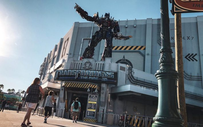 transformers ride at universal orlando resort