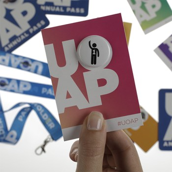 UOAP Button - Room for One More
