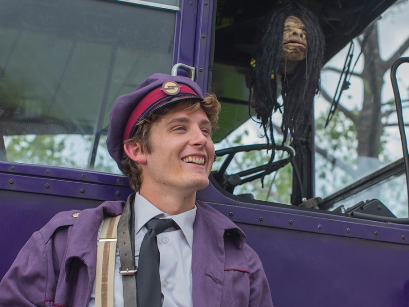 Knight Bus Conductor in The Wizarding World of Harry Potter