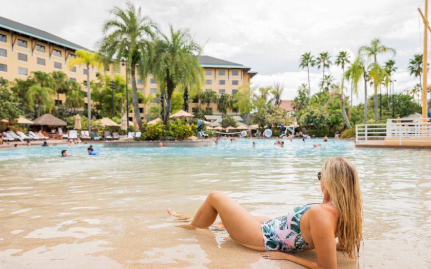 Piscina del Loews Royal Pacific Resort