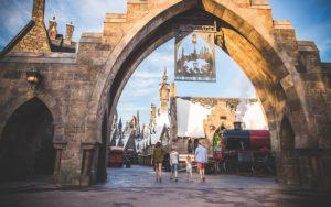 Entrada de Hogsmeade en The Wizarding World of Harry Potter