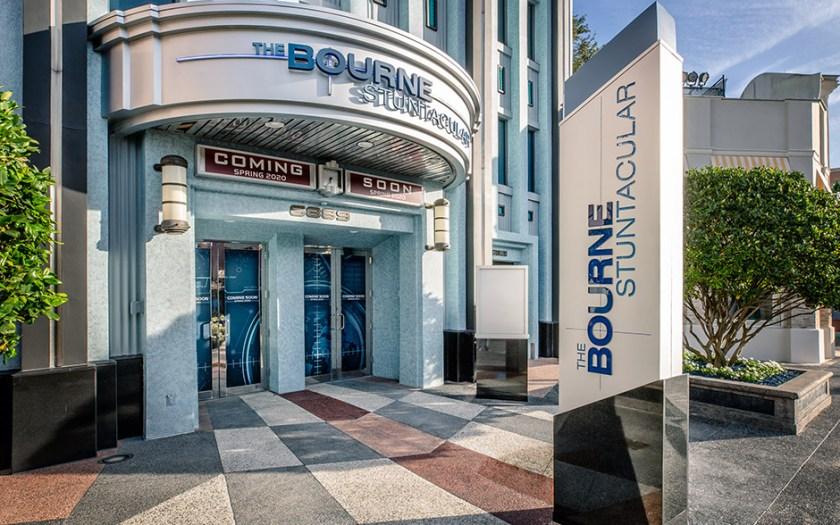 El exterior de Bourne Stuntacular